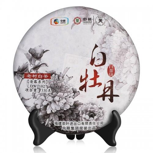 "Чжун Ча ""Белый Пион Чистая Роса"" Белый Чай 330г"