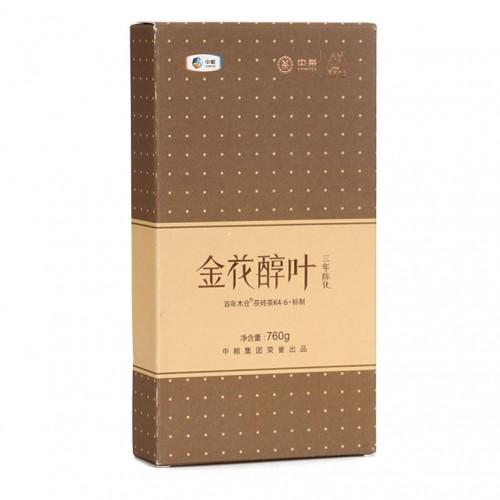 """Чжун Ча """"Золотые Цветы на Выдержанных Листьях"""" Хей Ча (Черный Чай) 760г"""