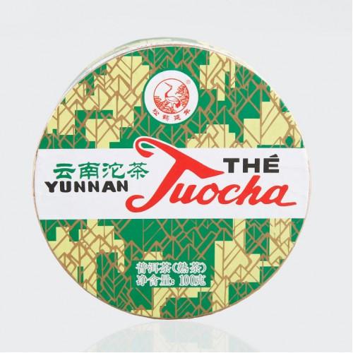 Сягуань Шу Туоча (Зеленая Коробка) 100г
